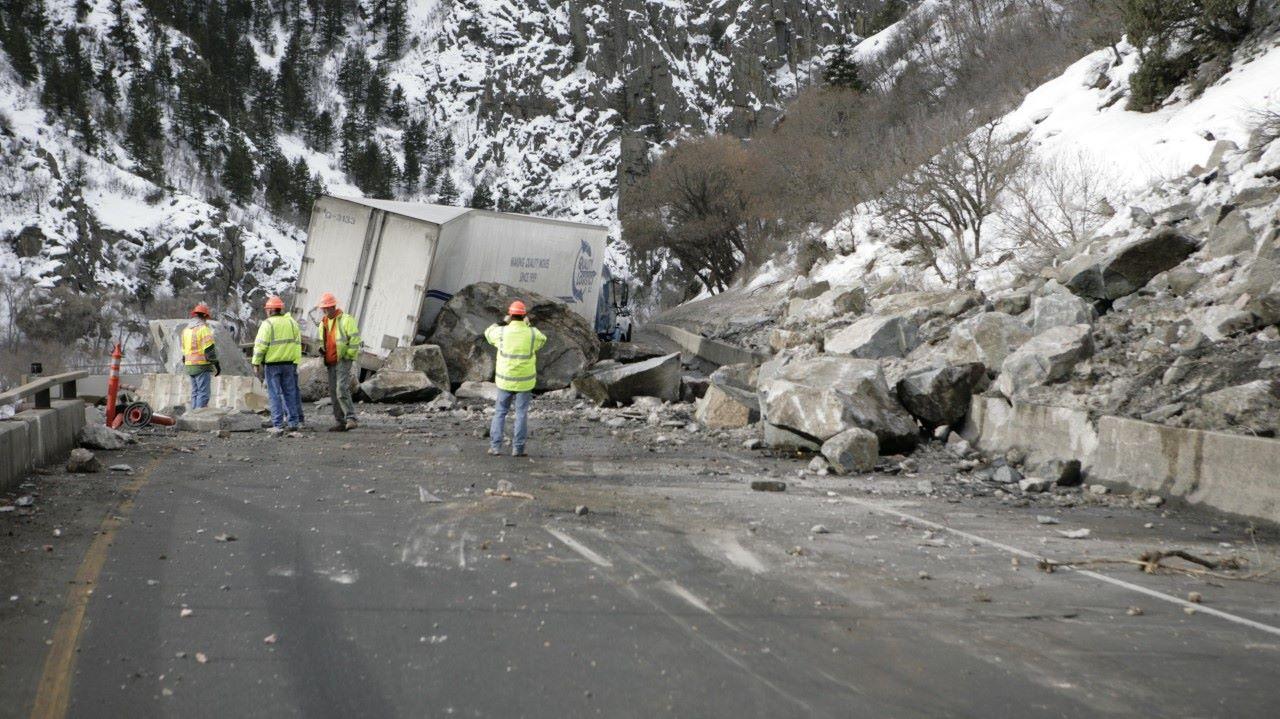 Deslizamiento de Roca en Colorado 3