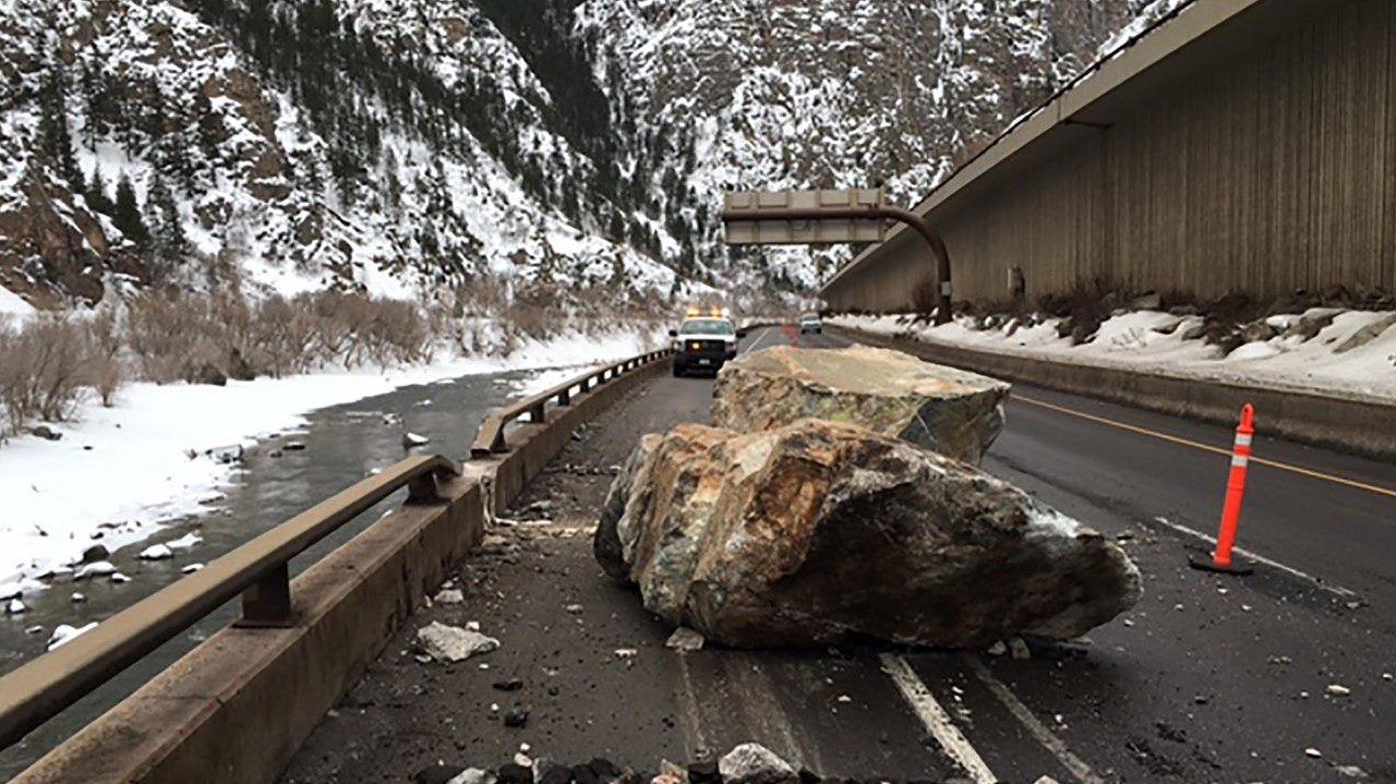 Deslizamiento de Roca en Colorado 4