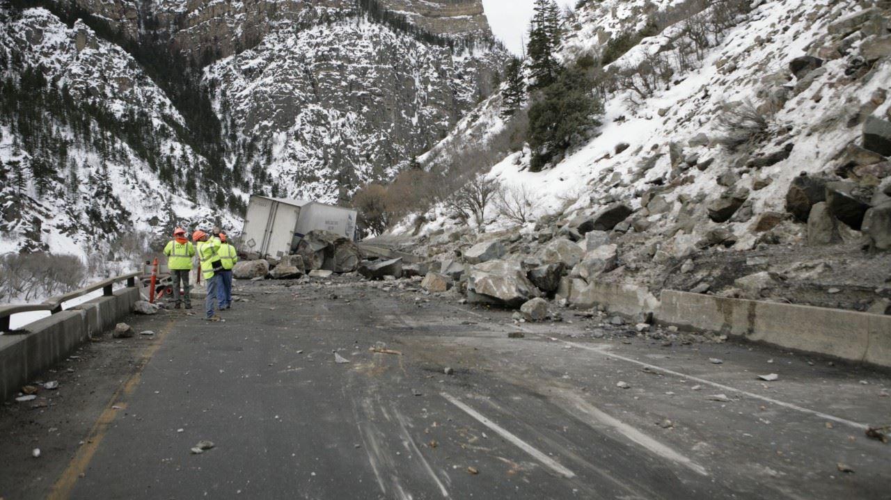 Deslizamiento de Roca en Colorado 5