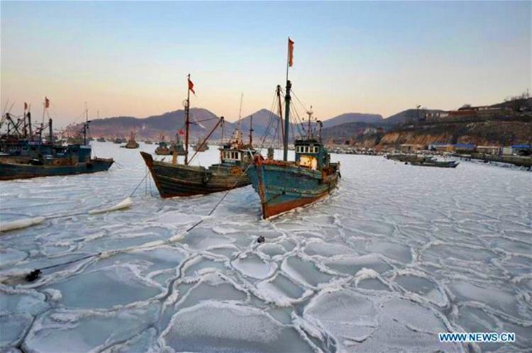 Frio severo en China