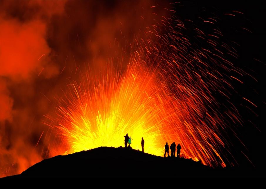 Fuego volcanico 2