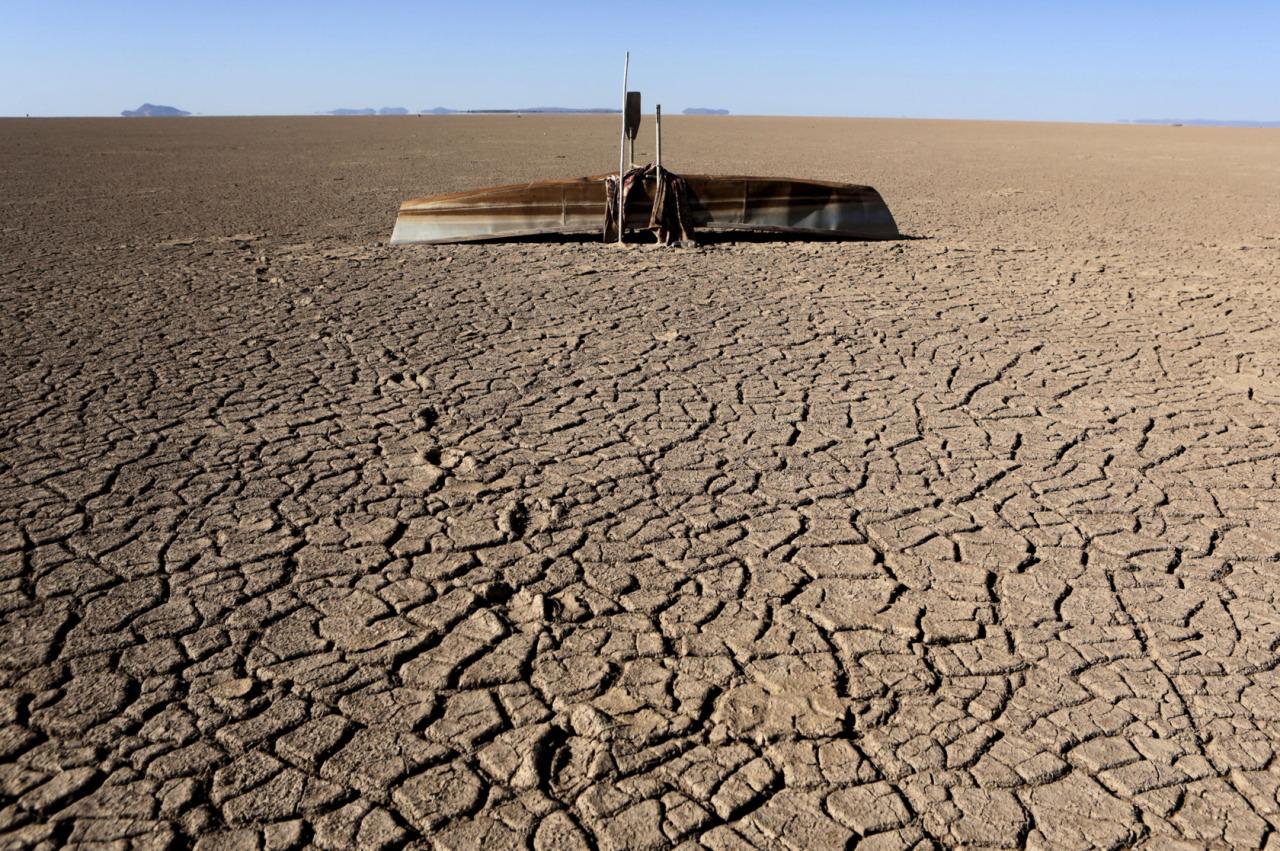 """Evaporación completa"""" del lago Poopó de Bolivia - Nuestroclima"""