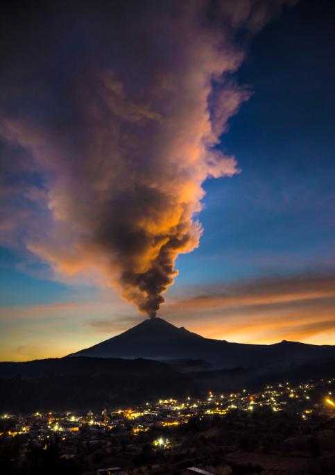 volcan Popocatepetl 1
