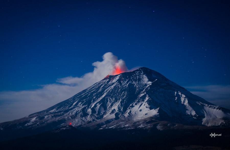 volcan Popocatepetl 2