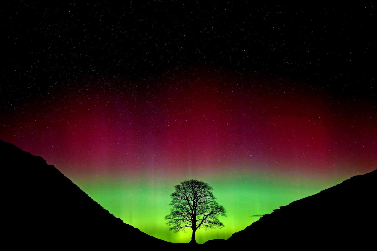 Auroras en Europa 3
