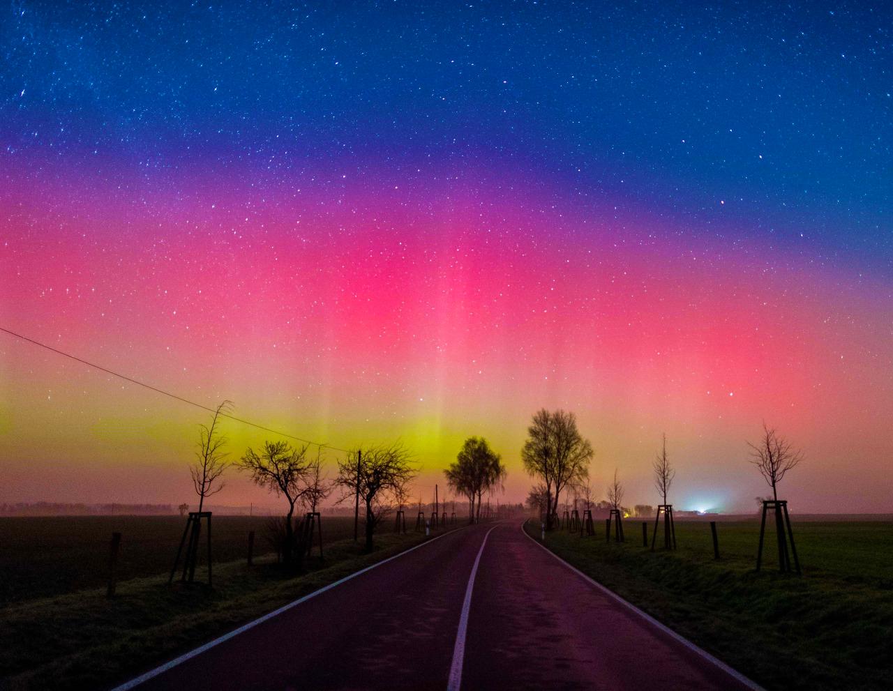 Auroras en Europa