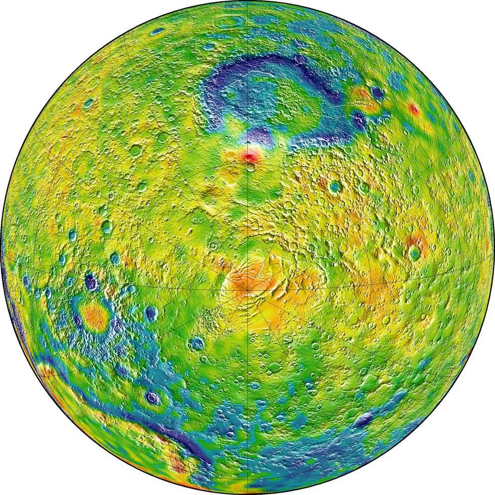 Marte gravedad
