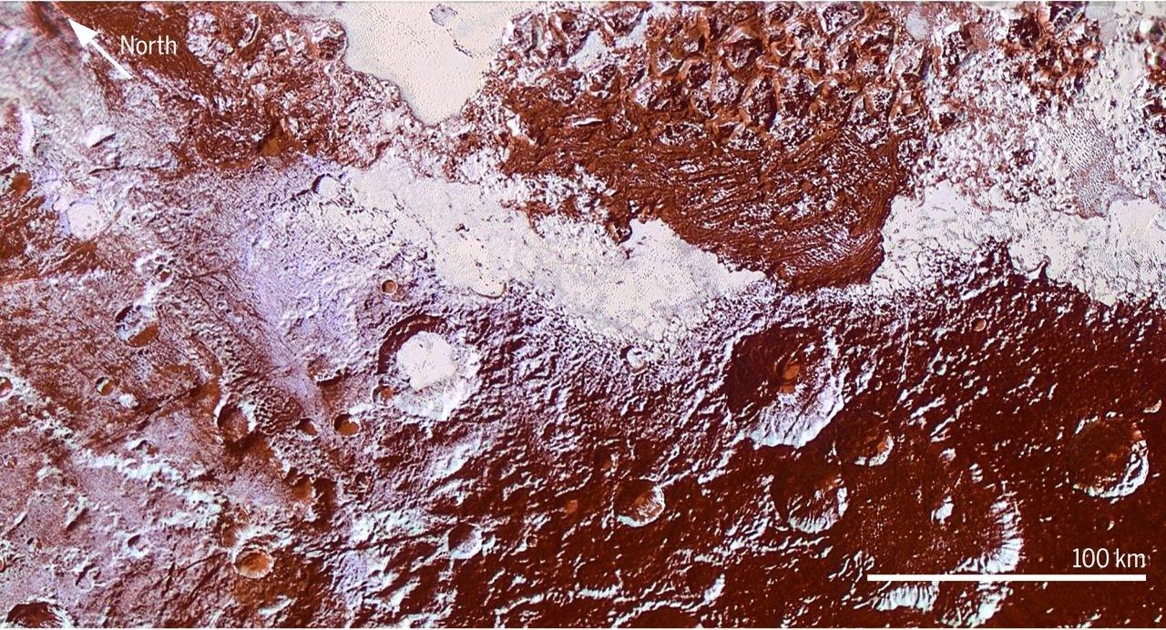Planeta pluton por la Nasa 1