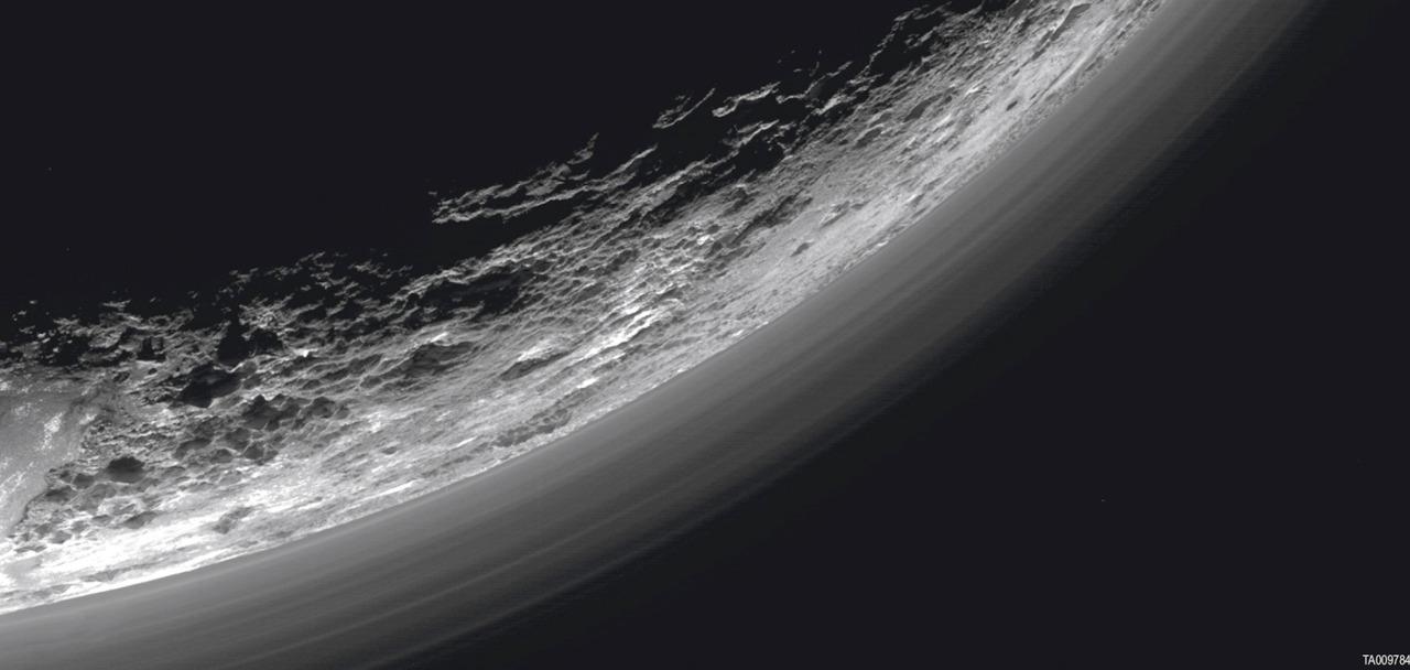 Planeta pluton por la Nasa 2