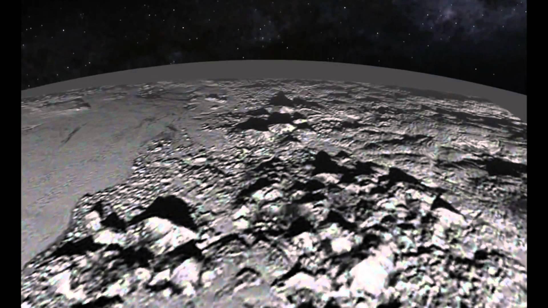 Planeta pluton por la Nasa 5