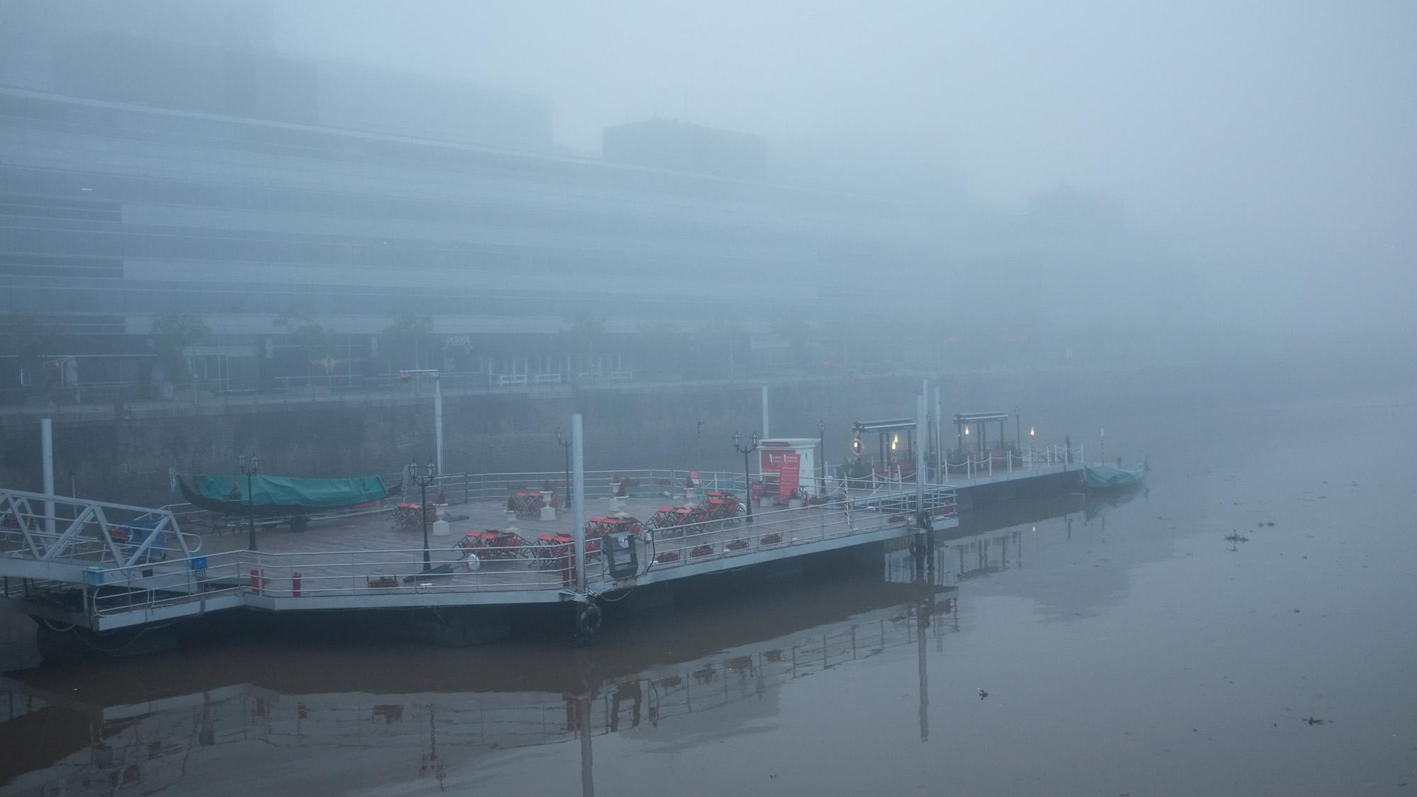 Niebla en Bs As