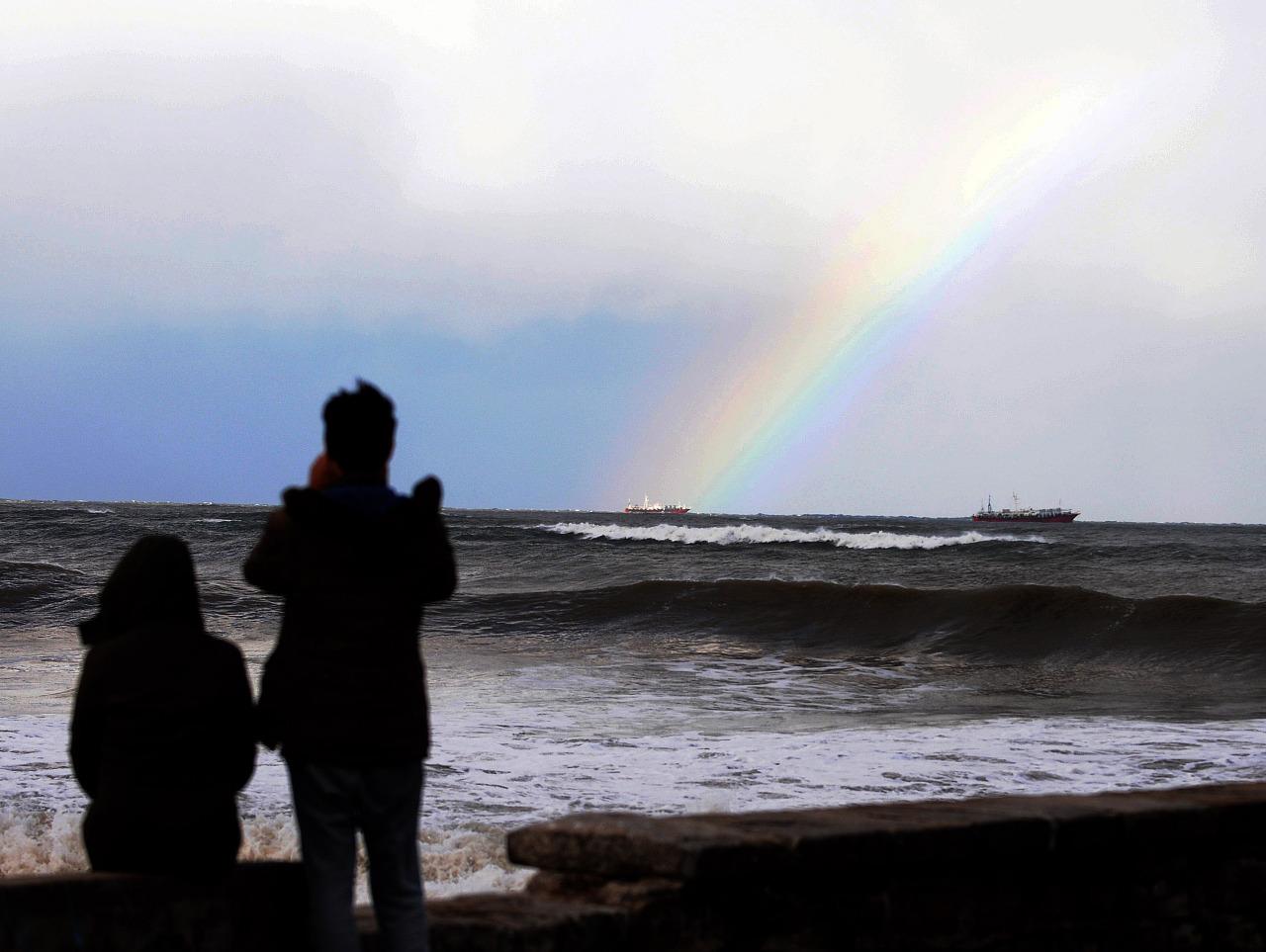 Olas en Mar Del Plata 1