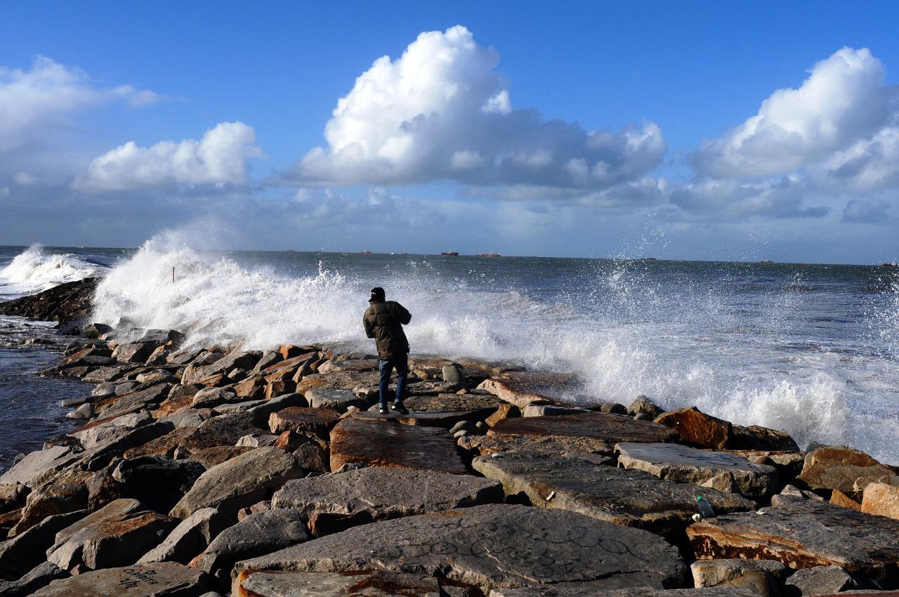 Olas en Mar Del Plata 3