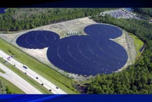 Panel solar Mickey