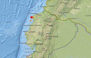 Replica de sismo en Ecuador 1