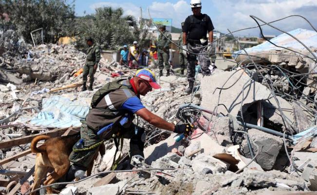 Replica de sismo en Ecuador