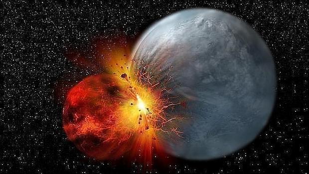 Choques en la Luna