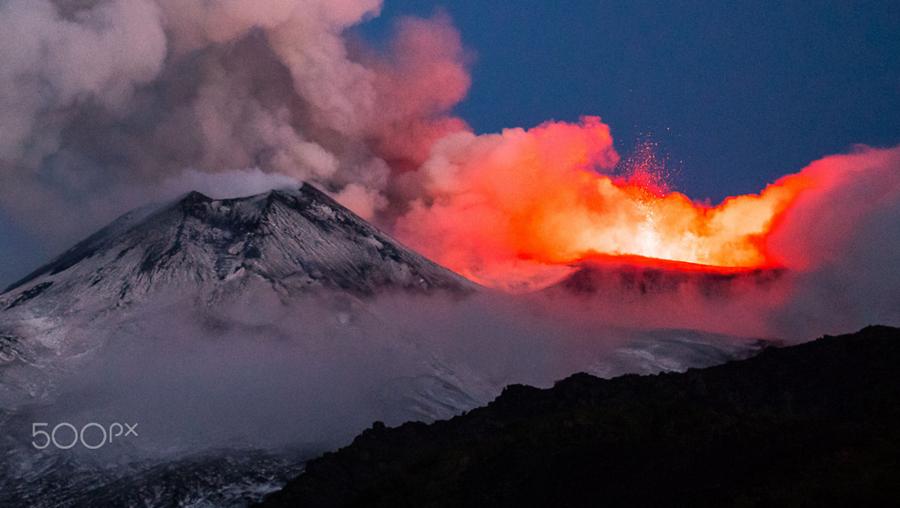 Etna en erupcion 3