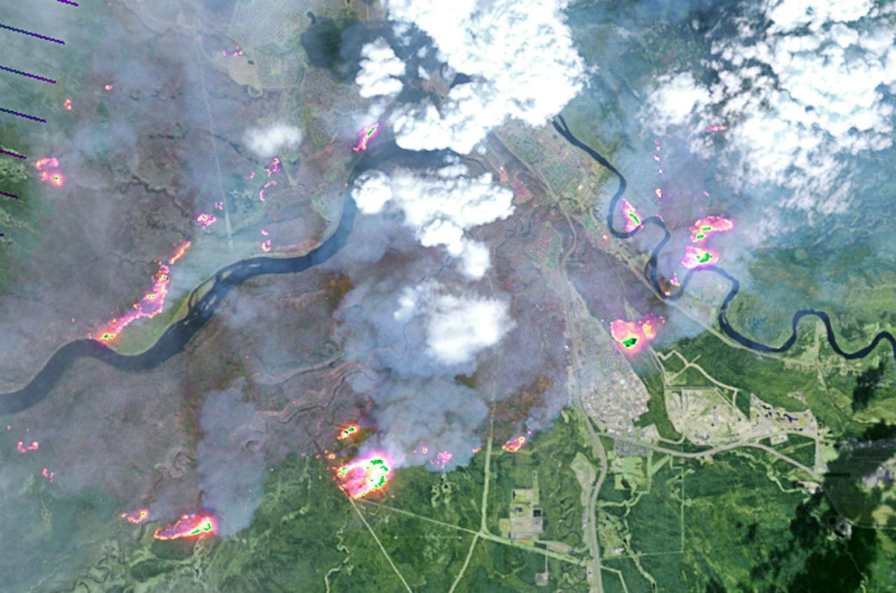 Incendios en Canada 1