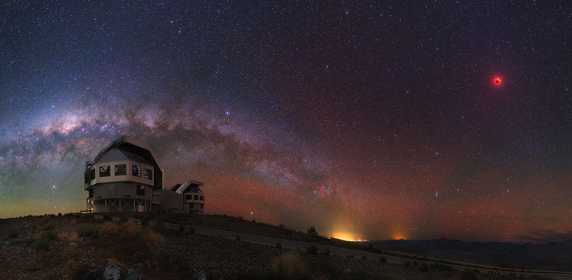 La noche en Atacama