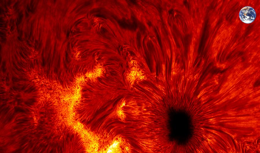 Mancha solar de frente 2