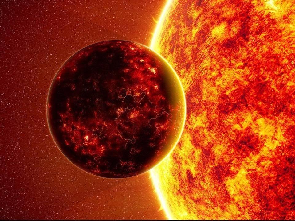 Mercurio frente al Sol