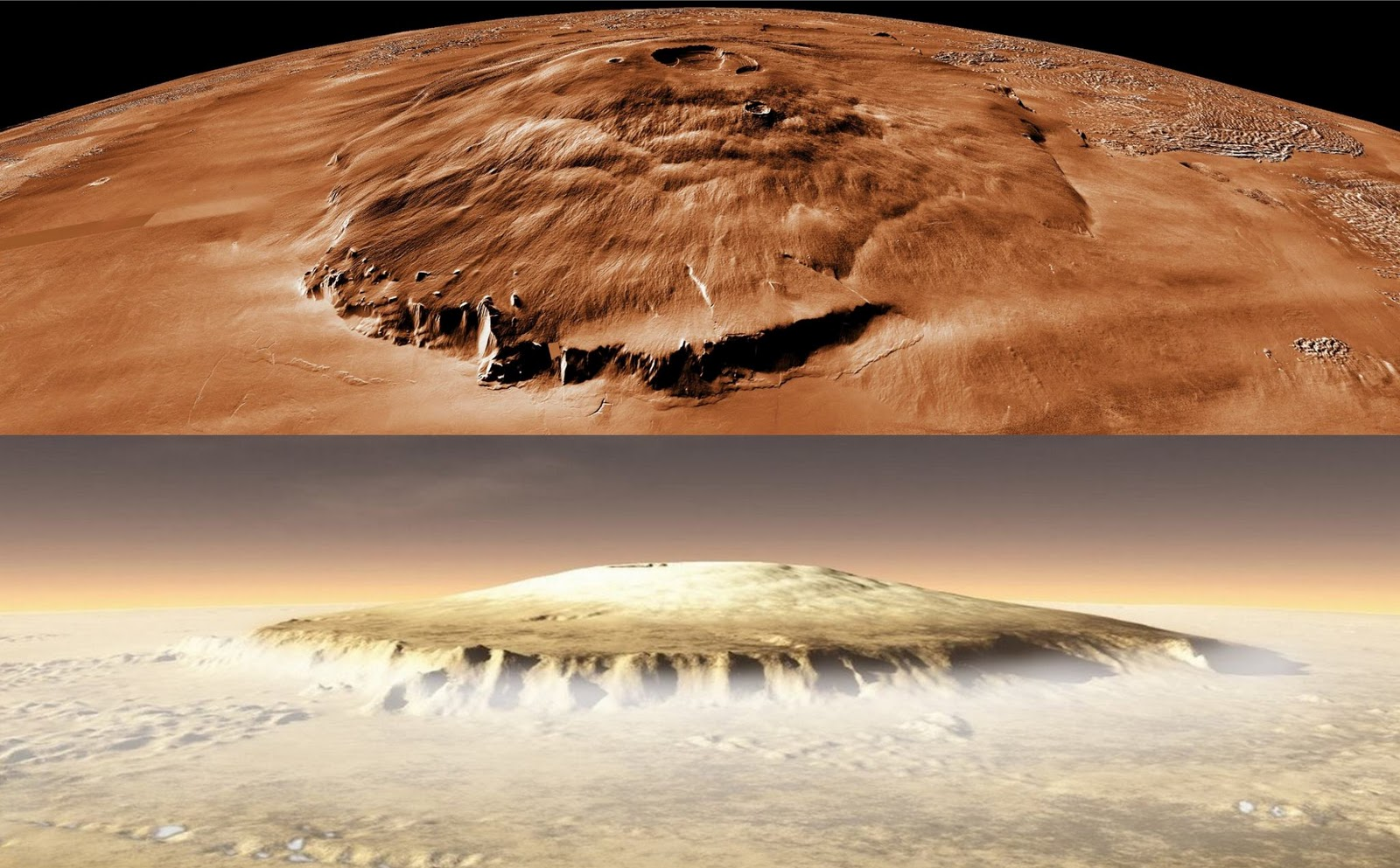 Monte Olimpo Marte 2