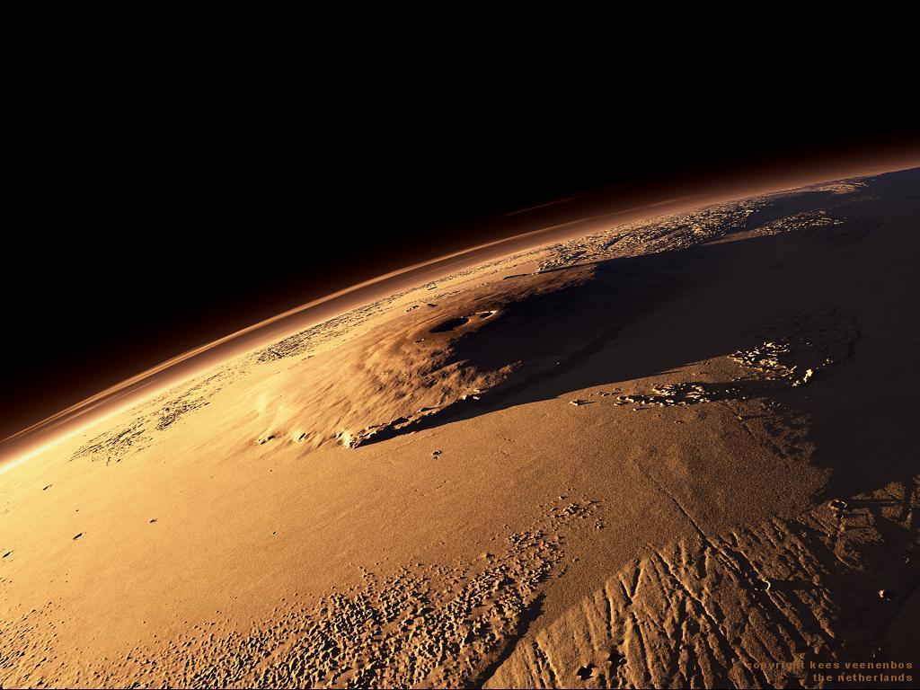 Monte Olimpo Marte 3