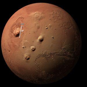 Monte Olimpo Marte 4