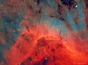 Pilares de la Nebulosa del Pelicano 2