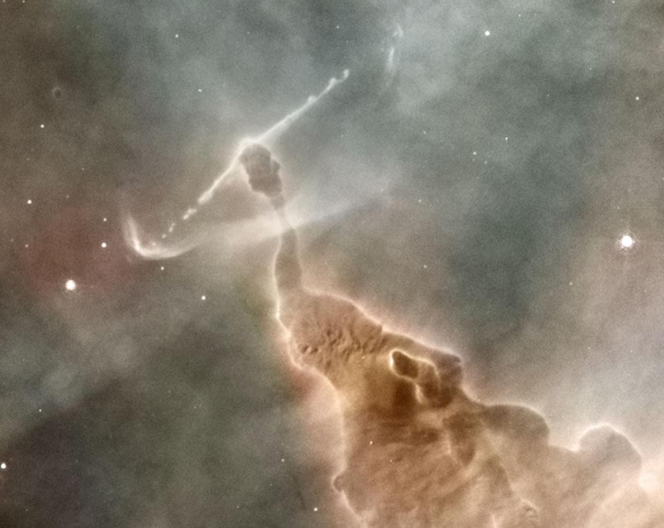 Pilares de la Nebulosa del Pelicano