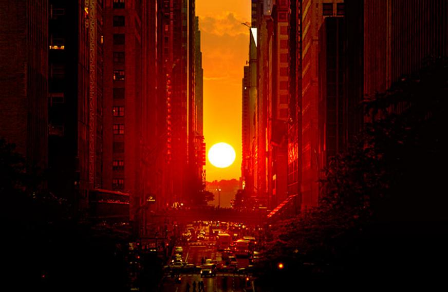 Sol en calles Manhattan 6