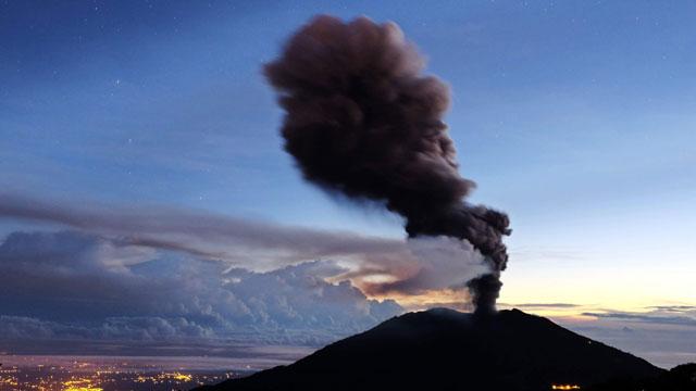 Volcan Turrialba de Costa Rica