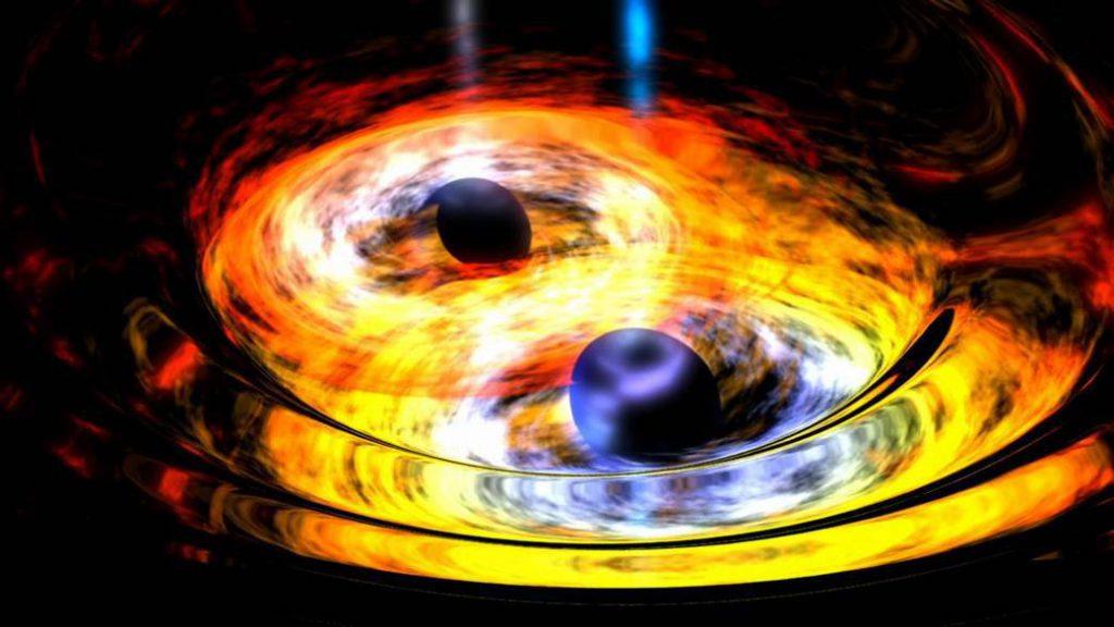 Choque de agujeros negros