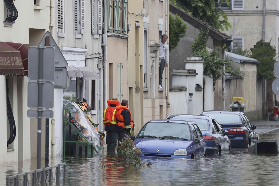 Europa bajo agua