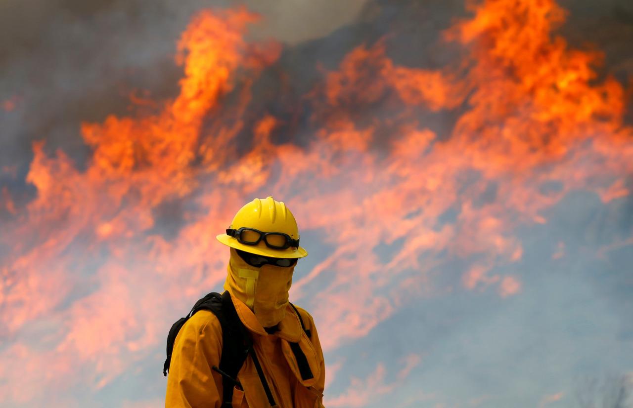 Incendio en california 1