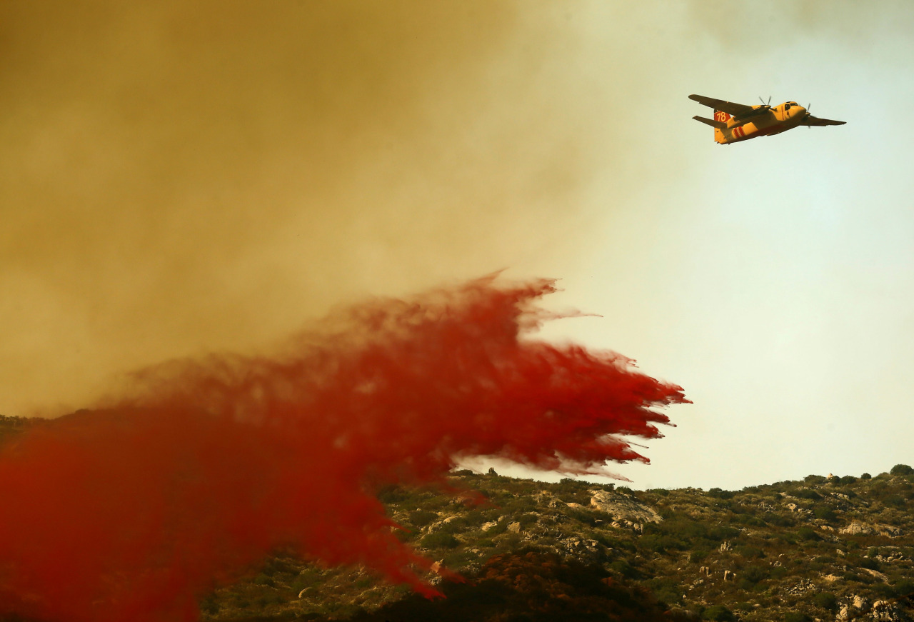 Incendio en california 2