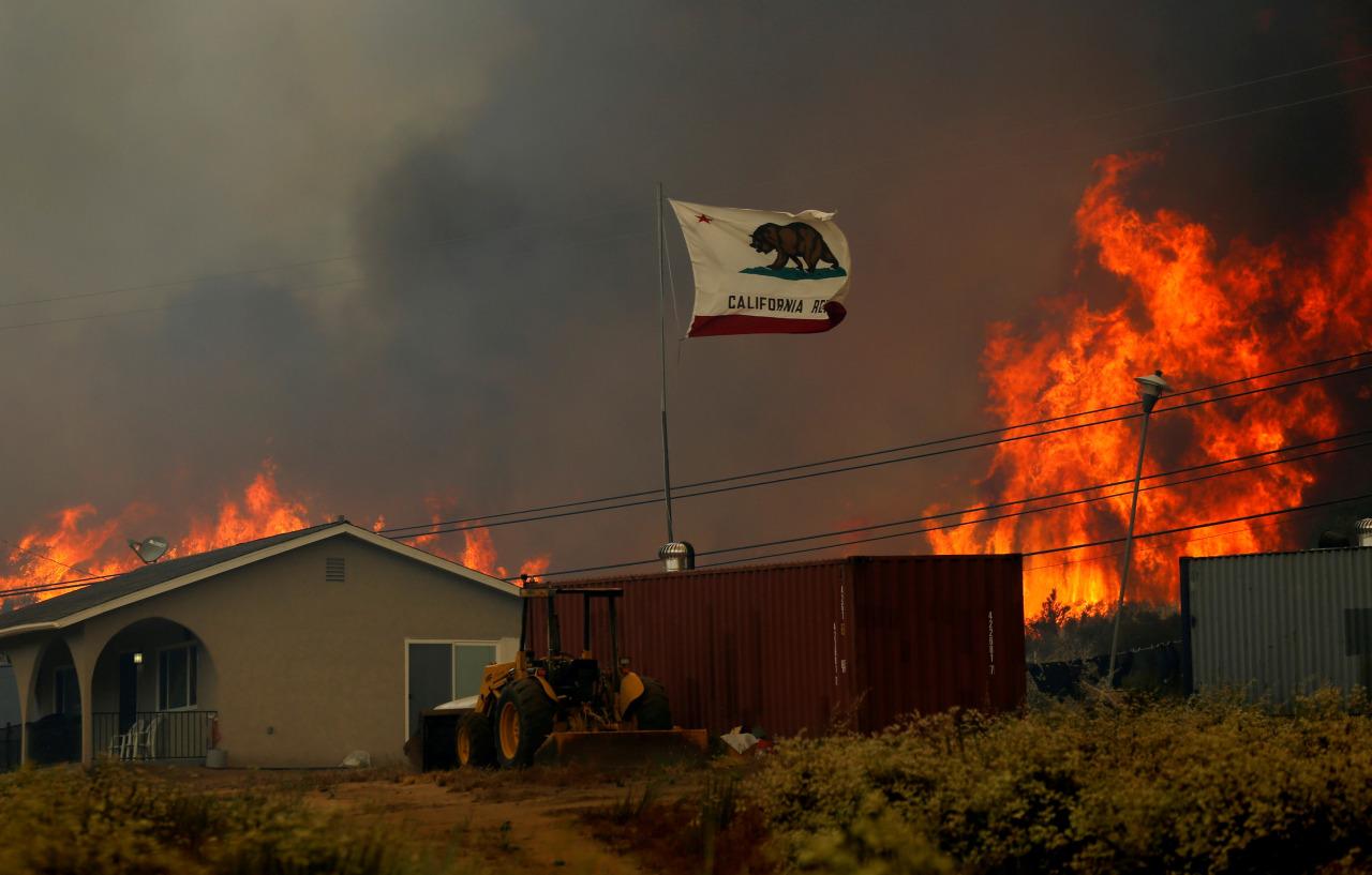 Incendio en california 5