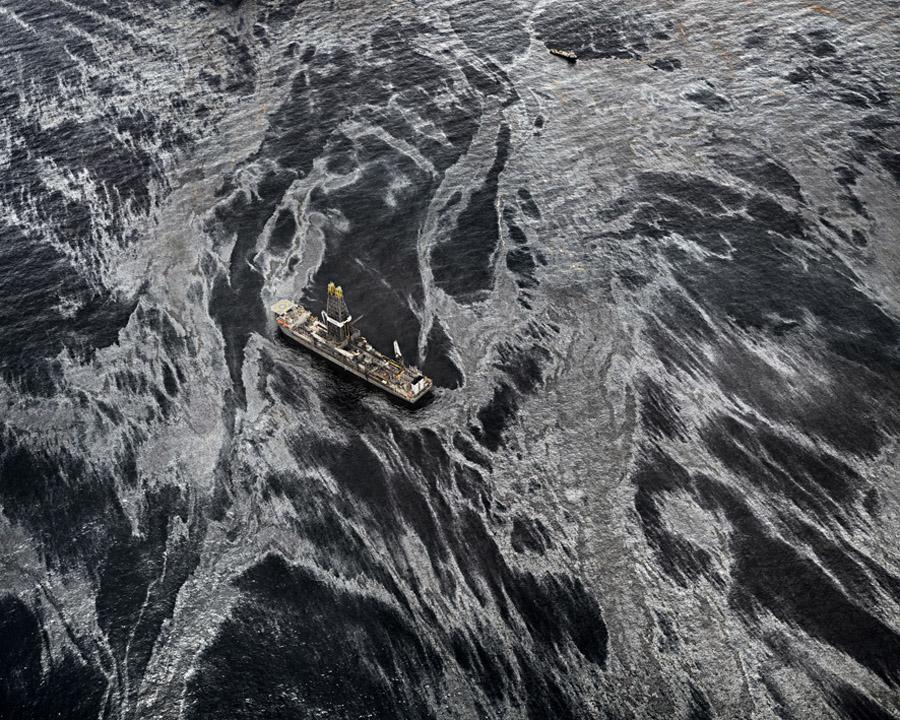 Petroleo en el mar