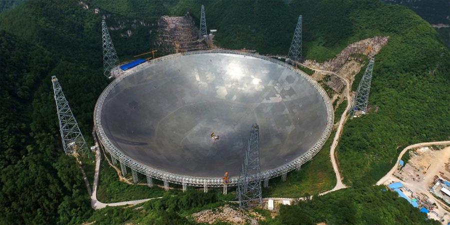 El radiotelescopio FAST