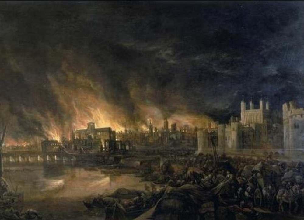 Incendio en Londres 2