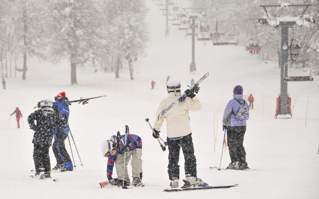 Nieve en el Chapelco