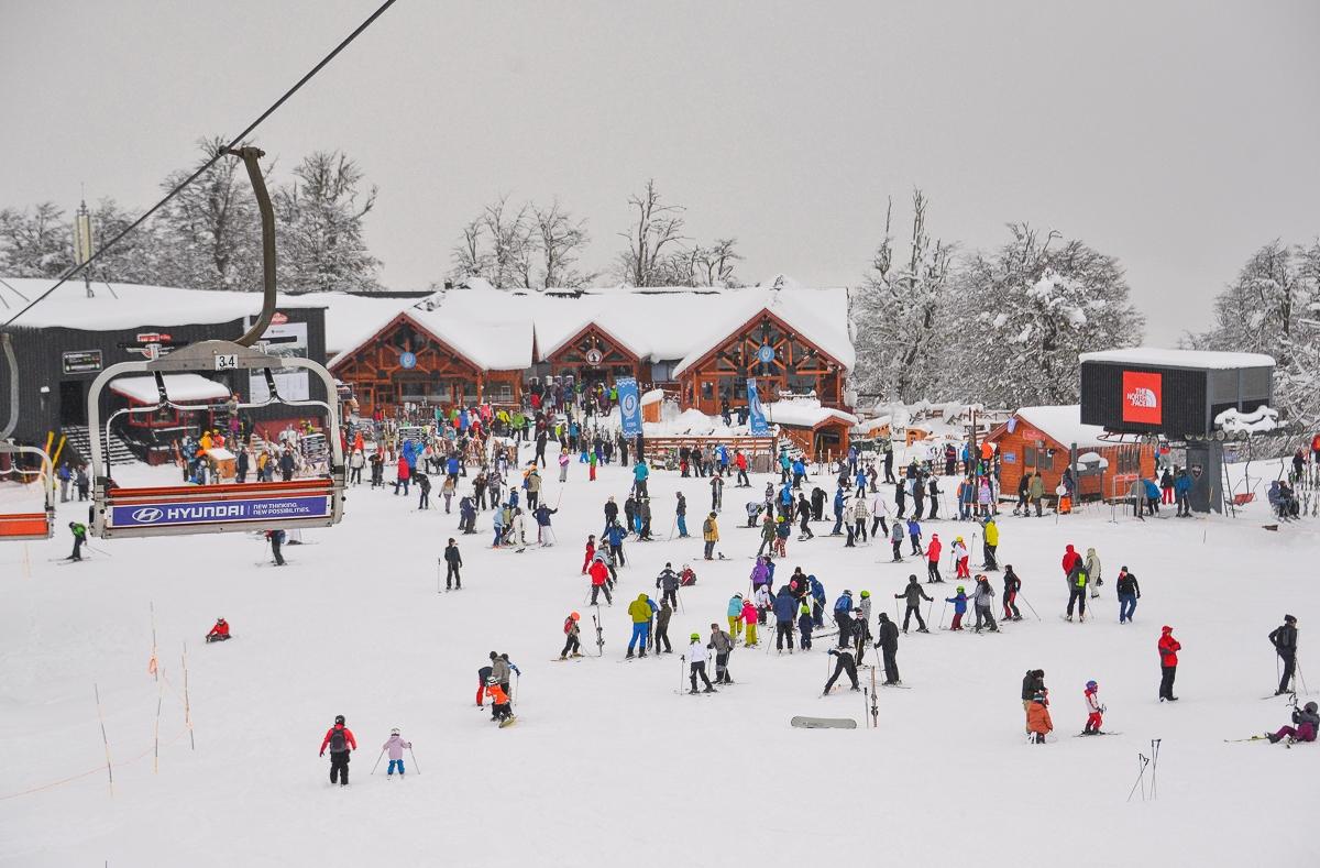Nieve en el Chapelco 2