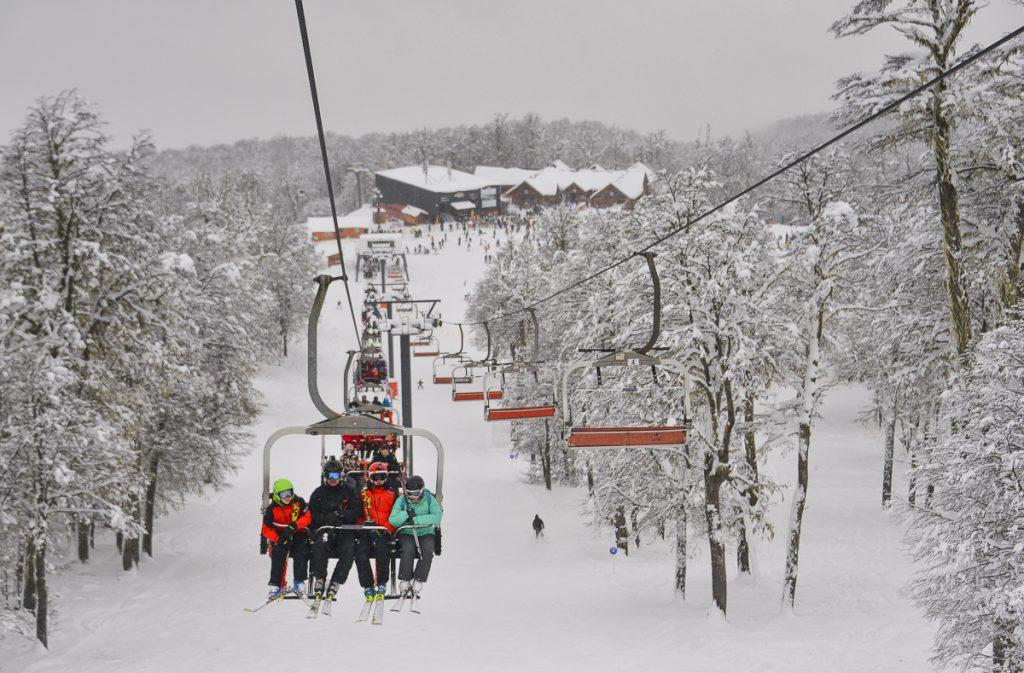 Nieve en el Chapelco 4