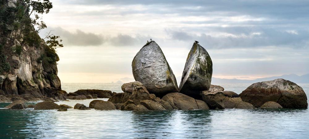 Roca partida, Nueva Zelanda 1