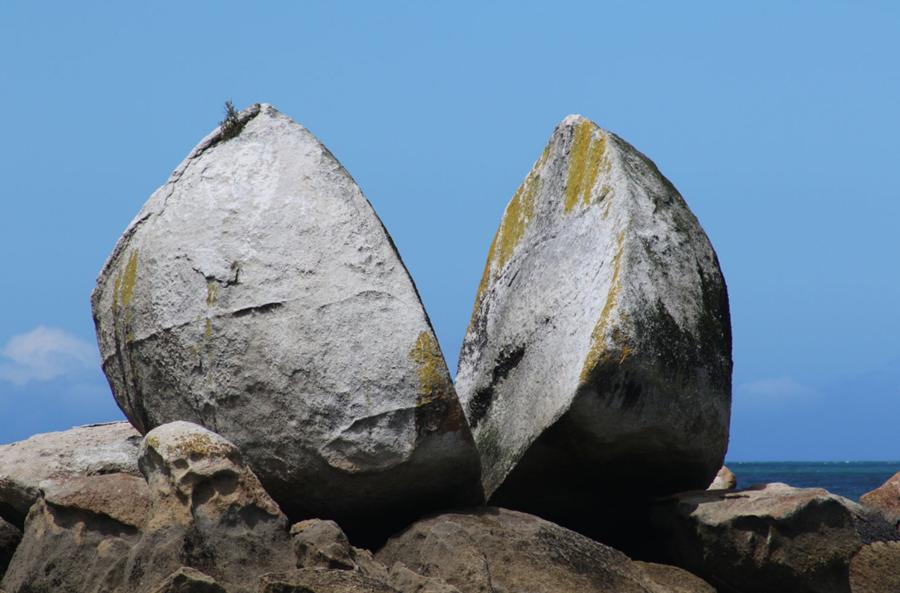 Roca partida, Nueva Zelanda 3