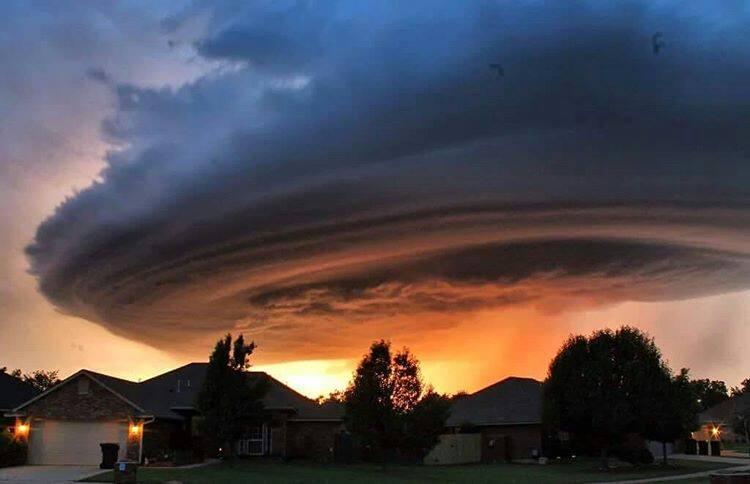 Impresionantes sistemas de tormentas superceldas