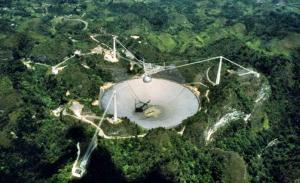 gran radiotelescopio de Arecibo 1