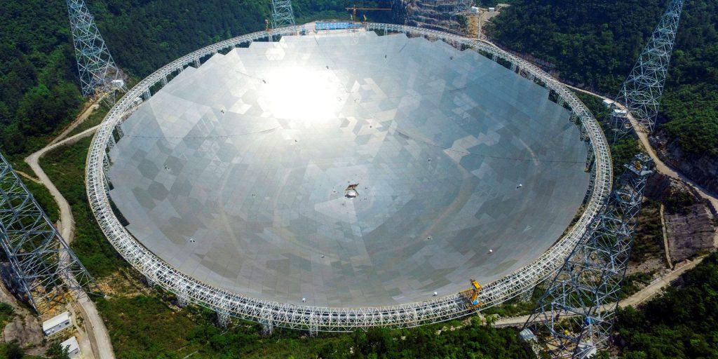 gran radiotelescopio de Arecibo