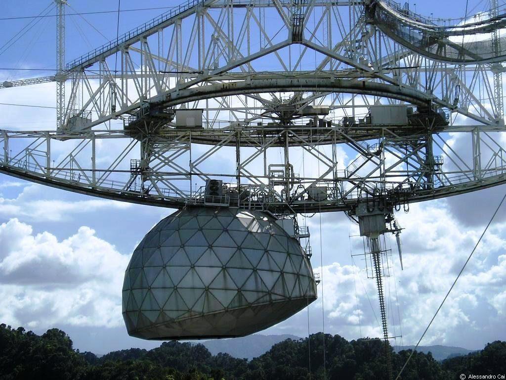 gran radiotelescopio de Arecibo E